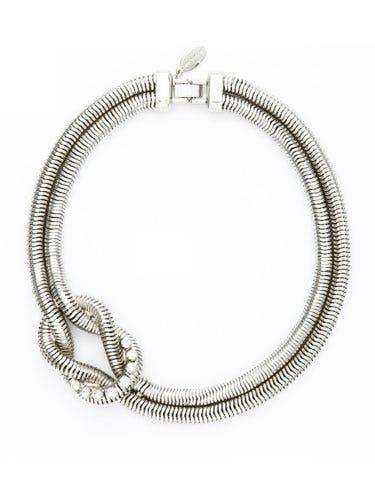 Metal, Body jewelry, Circle, Silver, Natural material,