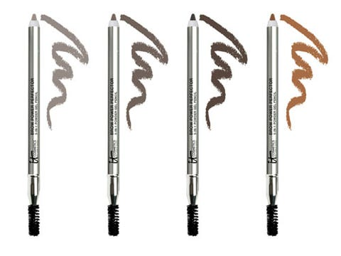 """<p>Nothing's more embarrassing than a painstakingly filled-in brow that slides down your face by midnight. Stop your arches in their tracks with this seriously waterproof powder gel formula that sets in under two minutes…and stays.</p>  <p>IT Cosmetics Brow Power Perfector 5-in-1 Waterproof Powder Gel, $27, <a href=""""http://www.qvc.com/It-Cosmetics-Brow-Power-Perfector-5-in-1-Powder-Gel-Pencil-Duo.product.A225108.html"""" target=""""_blank"""">qvc.com</a></p>"""
