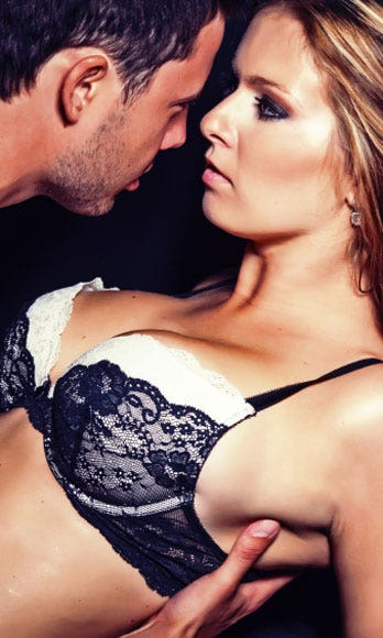 """<p>Since most women tend to come more slowly than men do, use strategic foreplay techniques to bring you closer to the brink. Any sensation that involves rubbing against your <a href=""""http://www.cosmopolitan.com/sex-love/advice/clitoris?click=main_sr"""" target=""""_blank"""">clitoris</a> will boost blood flow to your V-zone and get you extra turned on. Cross your legs, squeeze them together, and grind your pelvis against his body, your fingers, or a vibrator.</p>"""