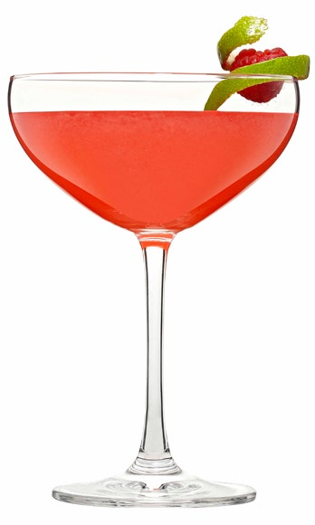 <i>2 oz. blanco tequila<br /> 1 oz. Cointreau<br /> 1 oz. lime juice<br /> 2 red bell pepper, sliced<br /> 2 raspberries<br /> 1 tsp. raspberry preserves<br /> Garnish: raspberry</i><br /><br />  Muddle one raspberry with red bell peppers in a cocktail shaker. Add ice and remaining ingredients. Shake vigorously and strain into a chilled cocktail glass. Garnish with a raspberry.