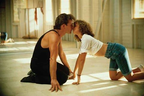 """<p>Pelvises rocking in unison. Crawling all over the floor to the sounds of """"Love is Strange."""" That flash of Swayze's bum. Dirty dancing indeed!</p>"""