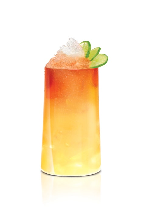 <p>Created by Lindsay Nader</p> <p>2 oz. SKYY Infusions Moscato Grape</p> <p>½ oz. Coco Lopez</p> <p>½ oz. Sweetened Passion Fruit Puree</p> <p>½ oz. Fresh Lime Juice</p> <p>Angostura Bitters</p> <p>Preparation: </p> <p>Shake all ingredients except for bitters and strain over crushed ice in a highball glass. Top with Angostura and garnish with a lime or fresh sprig of mint.</p>