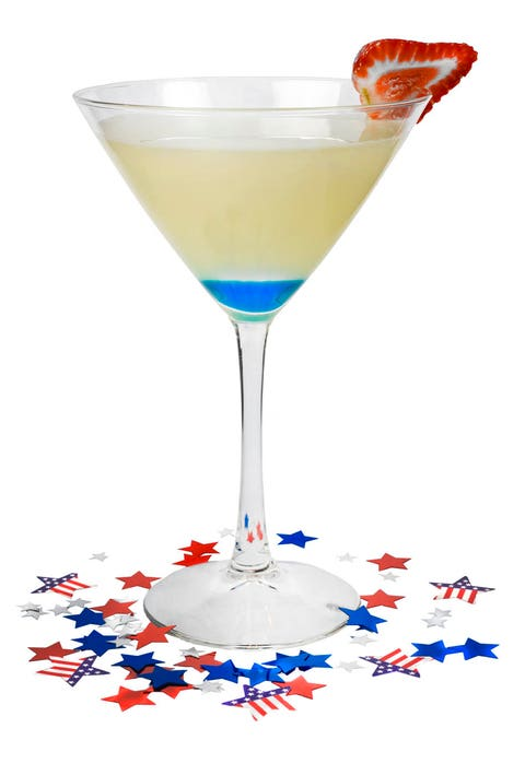 """<p>Created by Beam's Master Mixologist Bobby """"G."""" Gleaso</p> <p>2 parts Jim Beam® Honey</p> <p>1 part Blue Curacao</p> <p>2 parts White Cranberry Juice </p> <p>Juice of one half lime</p> <p>Preparation:</p> <p>Shake all but the Curacao and strain into a chilled cocktail glass. Slowly pour the Curacao against the inside of the glass so that it sinks to the bottom. Garnish with a lime wheel on the rim.</p>"""