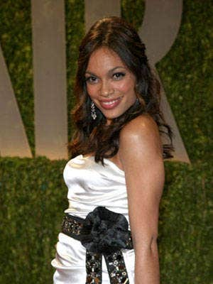 <p>Rosario Dawson has taken on many causes that affect the Latino community. From co-founding Voto Latino to protesting for comprehensive education for undocumented immigrants, no cause is unworthy.  But one she holds near and dear to her heart is the work she does with Parents, Families, and Friends of Lesbians and Gays (PFLAG) and its Stay Close campaign. Inspired by her Uncle Frank and his partner Vincenzo, who at the age of 16 Dawson decided to live with, she encourages people to cherish their relationships with their family and friends, regardless of their sexual orientation. <br /><br /></p>