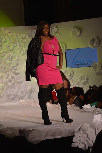 Fashion show, High heels, Boot, Fashion model, Runway, Fashion, Knee, Thigh, Long hair, Model,
