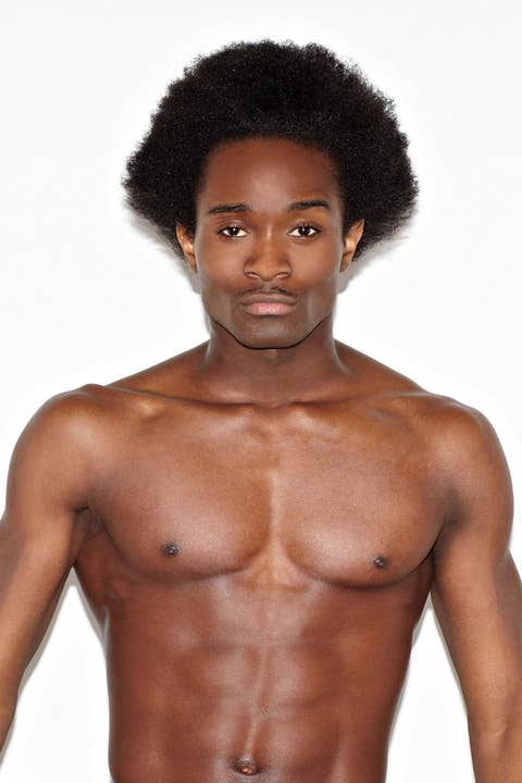 Hairstyle, Skin, Chin, Shoulder, Chest, Barechested, Joint, Standing, Black hair, Style,