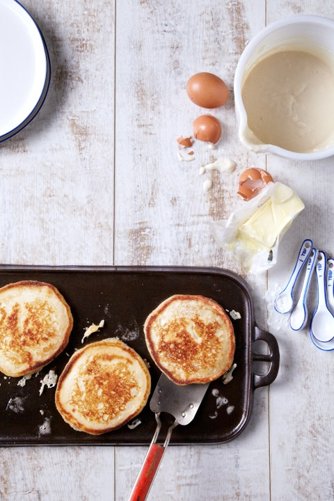 Dish, Food, Cuisine, Pancake, Ingredient, Breakfast, Meal, Dessert, Dutch baby pancake, Brunch,