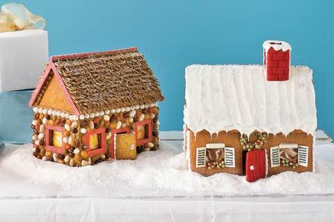 gingerbread house, gingerbread, dessert, house, winter, food, christmas decoration, snow, home, interior design,