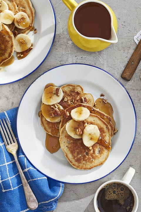 Dish, Food, Cuisine, Breakfast, Meal, Pancake, Ingredient, Banana, Banana family, Dessert,