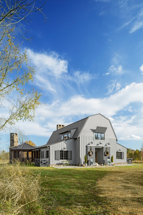 House, Home, Property, Sky, Farmhouse, Rural area, Cloud, Architecture, Building, Tree,