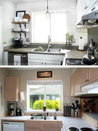 Room, Green, Interior design, Plumbing fixture, Property, White, Countertop, Kitchen, Home, Tap,