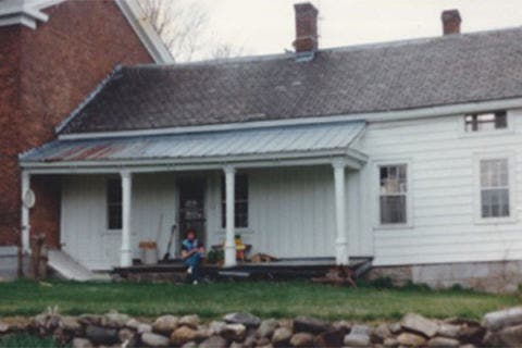 Before: The Abraham Wing House