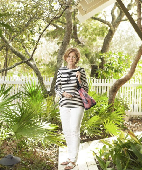 barbara baekgaard vera bradley designer at home