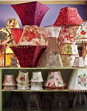 lampshades by judy lake