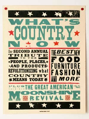what's country now poster
