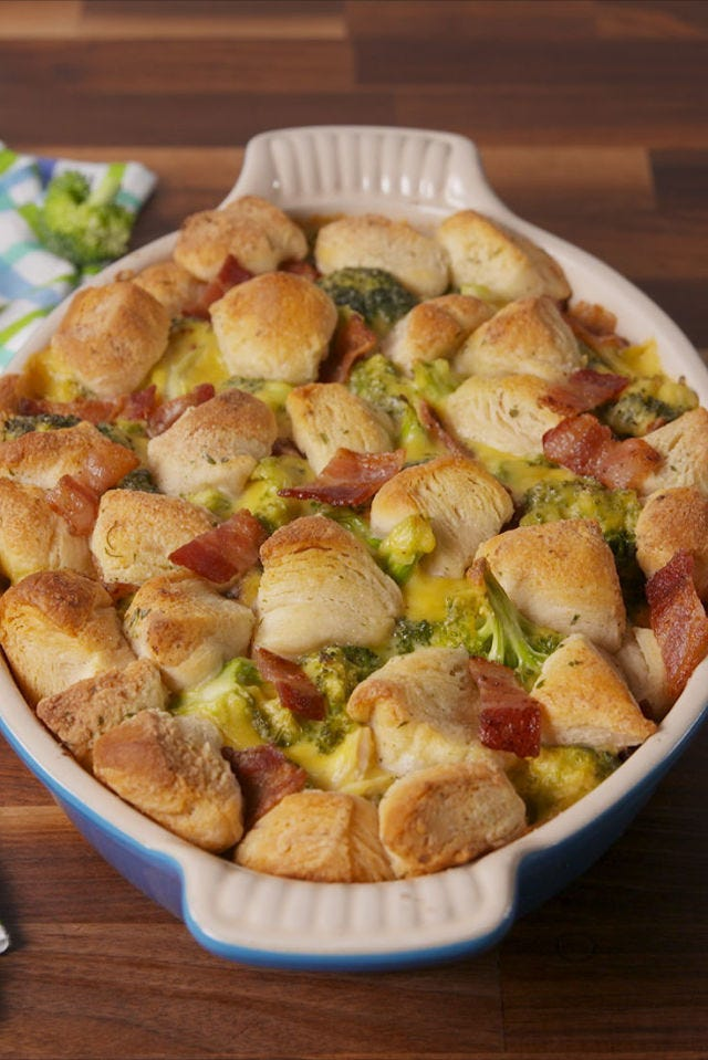 Chicken Bacon Ranch Bubble-Up Bake
