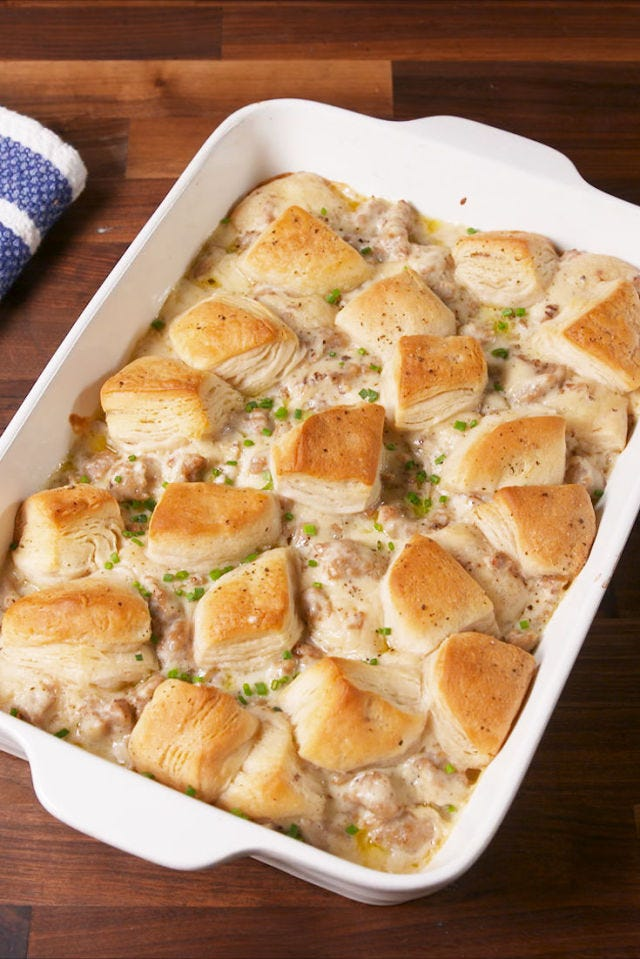 Biscuits and Gravy Bake Vertical