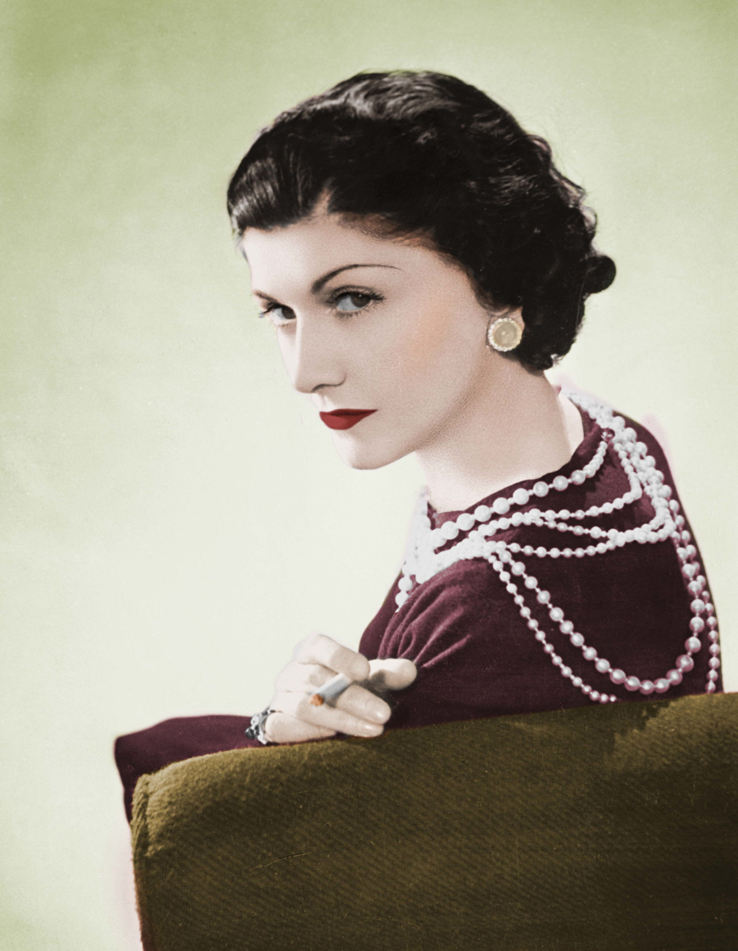 Coco Chanel's Pearls