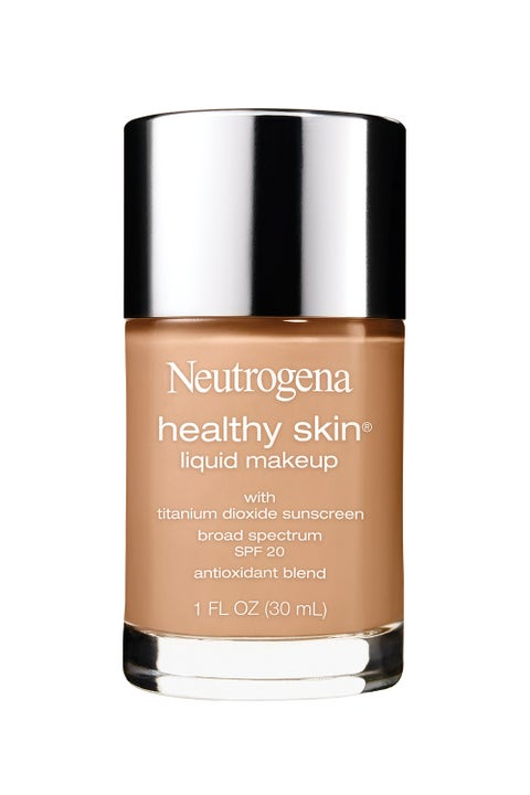 """<p>The 15 shades of <strong>Neutrogena Healthy Skin Liquid Makeup Broad Spectrum SPF 20 </strong>boost sun protection while evening out your skin and leaving it luminous. Perfect for a midday soiree (and you'll still have a flawless complexion come sunset). <em>$14, <a href=""""http://www.neutrogena.com/product/healthy+skin+liquid+makeup+broad+spectrum+spf+20.do"""" target=""""_blank"""">neutrogena.com</a></em></p>"""