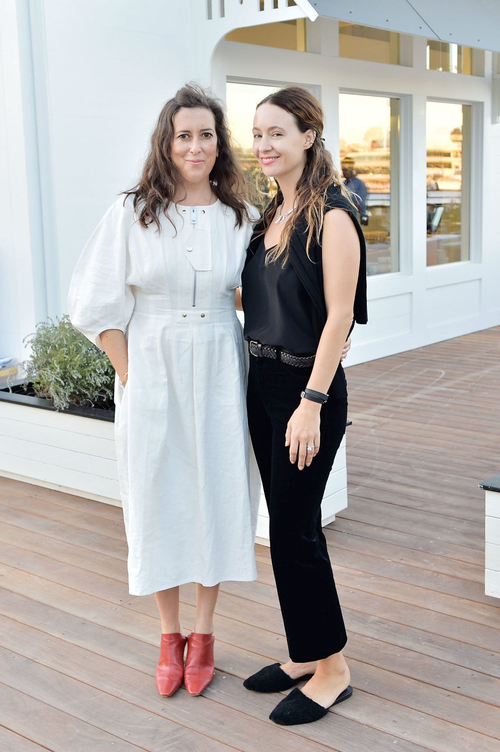 """<p>          At an exclusive&nbsp;dinner&nbsp;celebrating the opening of their stores at Lido Marina Village in Newport Beach on September 24, 2016.  <span class=""""redactor-invisible-space"""" data-verified=""""redactor"""" data-redactor-tag=""""span"""" data-redactor-class=""""redactor-invisible-space""""></span></p>"""