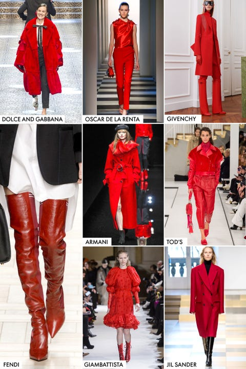Red, Clothing, Fashion, Fashion model, Runway, Outerwear, Fashion design, Shoulder, Footwear, Neck,