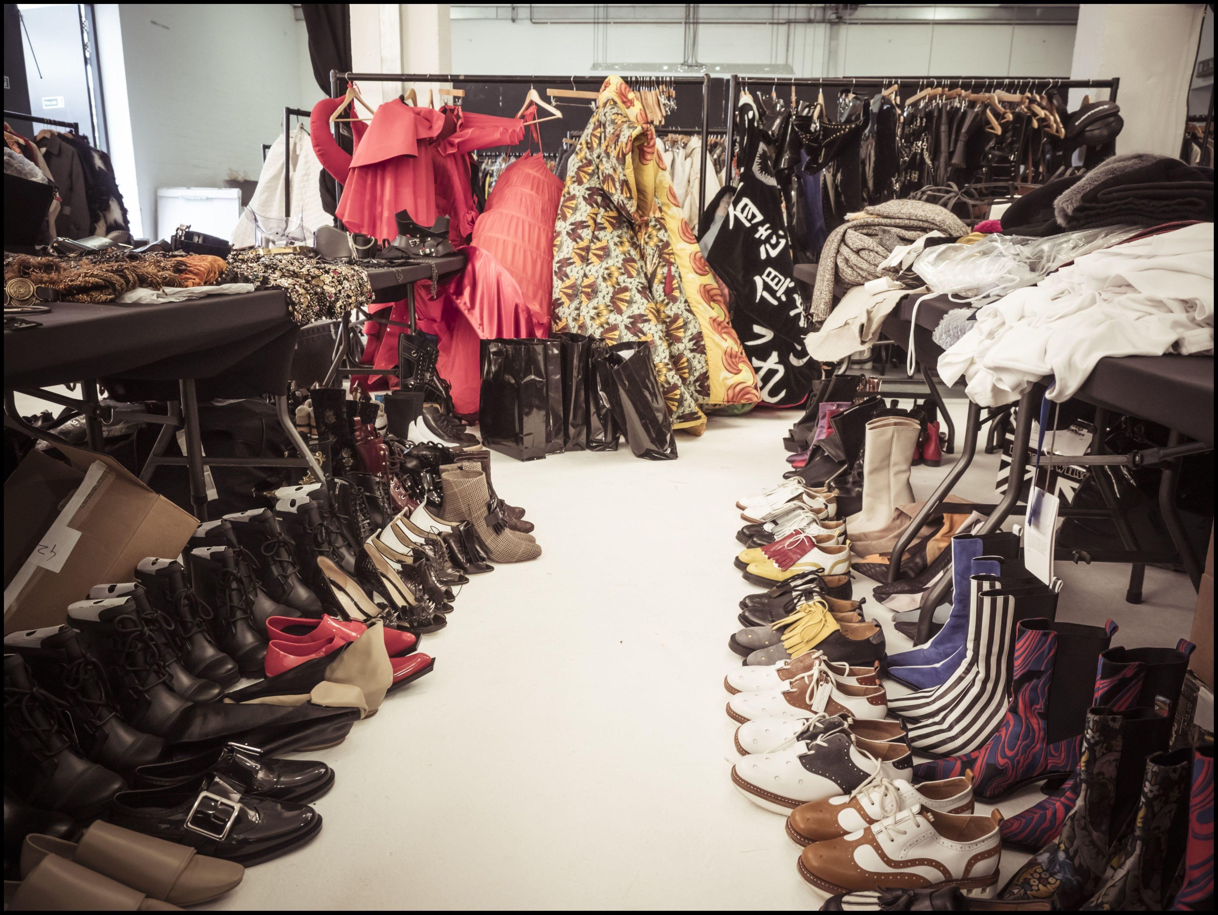 Boutique, Closet, Room, Fashion, Footwear, Textile, Dress, Shoe, Outlet store, Fashion design,