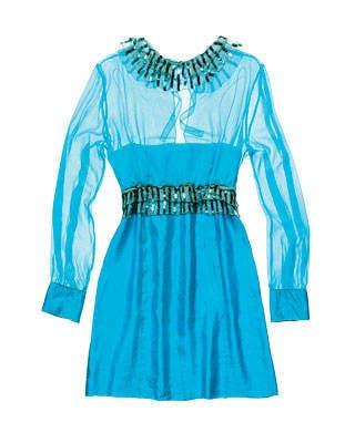 M Missoni beaded silk tunic