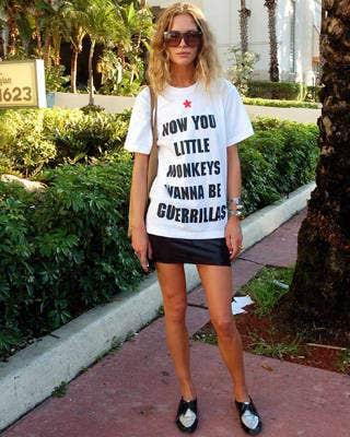 Erin Wasson, Miami Art Basel street chic, fashion