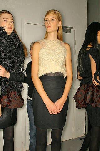 Sophia Kokosalaki Fall 2007 Ready-to-wear Backstage - 002