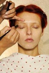 Finger, Lip, Cheek, Brown, Hairstyle, Skin, Chin, Forehead, Eyebrow, Style,