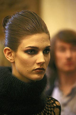 Head, Nose, Lip, Cheek, Hairstyle, Chin, Forehead, Eyebrow, Eyelash, Style,