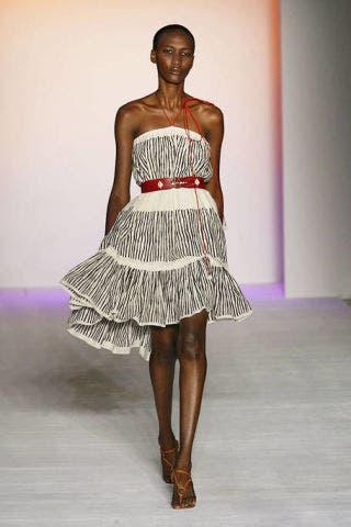 Human, Skin, Fashion show, Human body, Dress, Shoulder, Textile, Joint, Waist, Style,