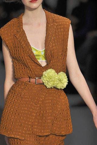 Textile, Fashion, Fashion model, Fashion show, Model, Fashion design, One-piece garment, Day dress, Costume design, Button,