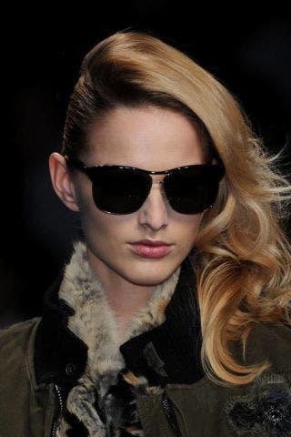 Clothing, Eyewear, Vision care, Glasses, Lip, Hairstyle, Jacket, Sunglasses, Outerwear, Style,