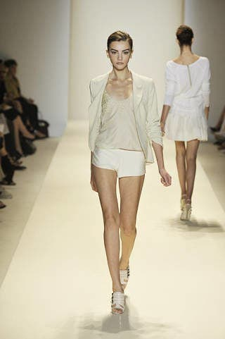 Clothing, Leg, Fashion show, Sleeve, Event, Human leg, Shoulder, Runway, Joint, Outerwear,