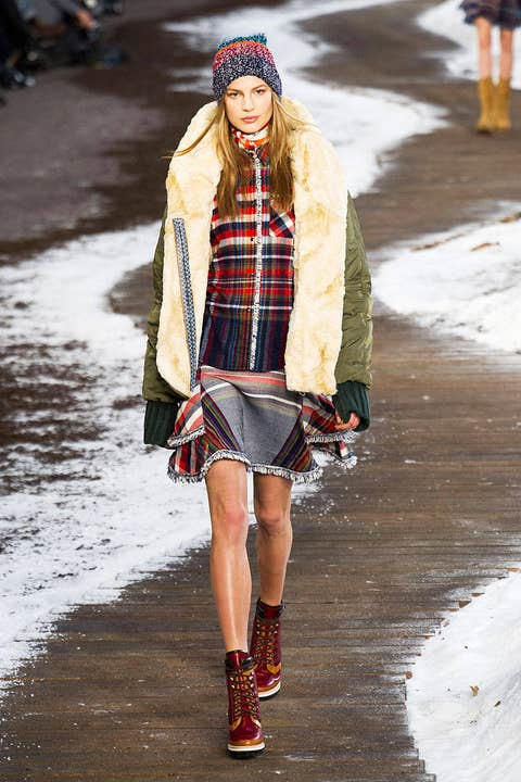 tommy hilfiger fall 2014 ready-to-wear photos