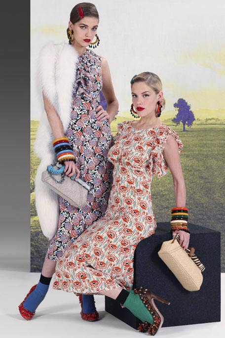 Clothing, Face, Dress, Shoulder, Textile, Pattern, Fashion accessory, Style, Bag, One-piece garment,