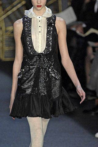 Zac Posen Fall 2008 Ready-to-wear Detail - 001