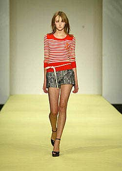 Clements Ribeiro Spring 2004 Ready-to-Wear Collections 0001