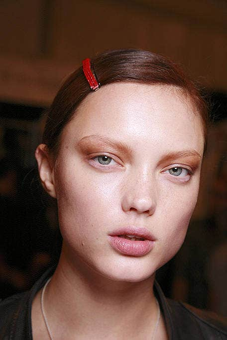 Head, Ear, Lip, Cheek, Brown, Hairstyle, Skin, Chin, Forehead, Eyebrow,
