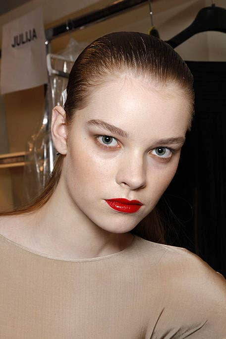 Nose, Mouth, Lip, Hairstyle, Shoulder, Eyelash, Eyebrow, Style, Beauty, Neck,