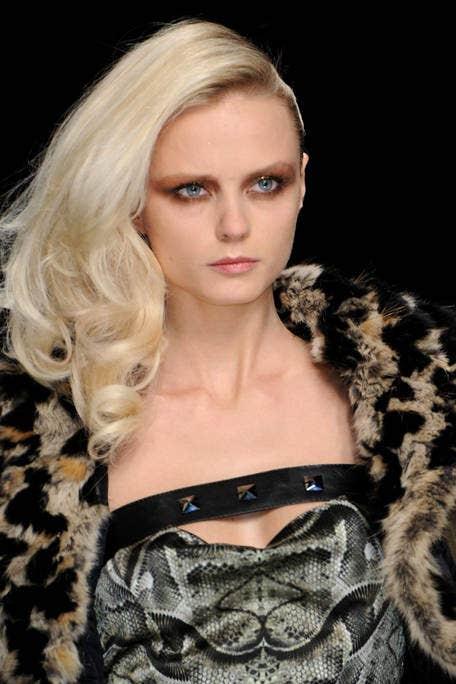 Lip, Hairstyle, Eyebrow, Eyelash, Style, Fashion model, Beauty, Fashion, Blond, Model,