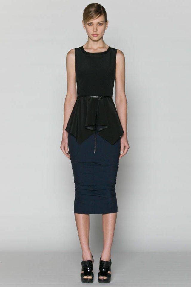 Sportmax Resort 2011 Look 02