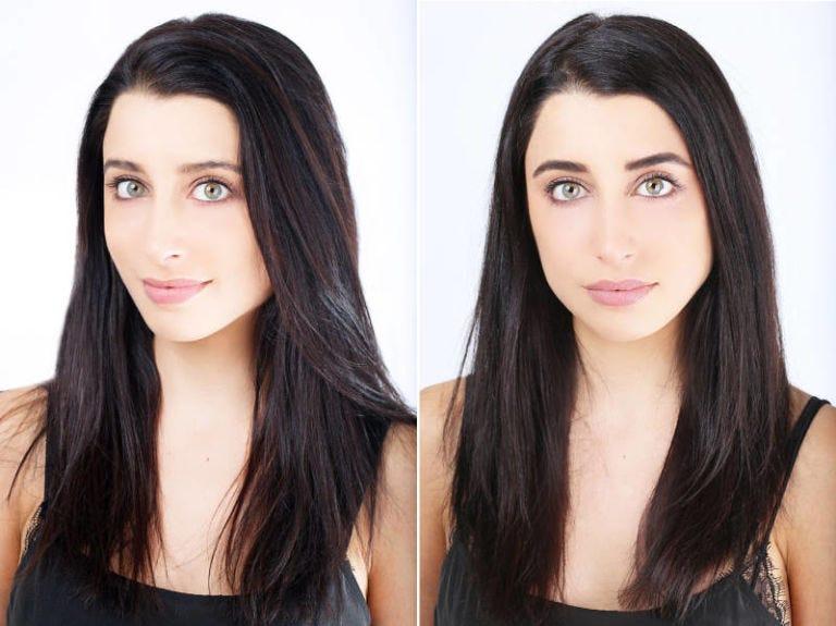 Hair, Face, Eyebrow, Hairstyle, Chin, Black hair, Skin, Forehead, Lip, Beauty,
