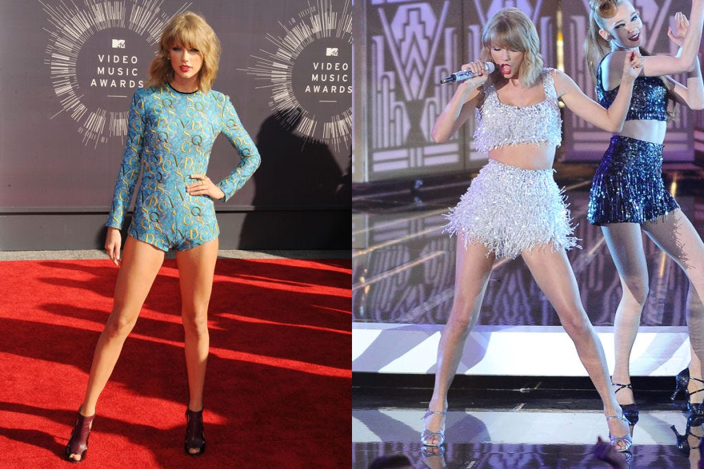 vma outfit changes