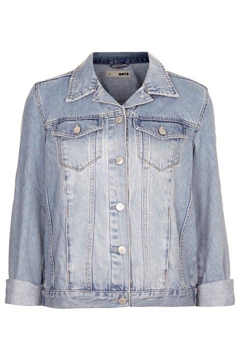 Clothing, Blue, Product, Collar, Sleeve, Denim, Dress shirt, Textile, White, Button,