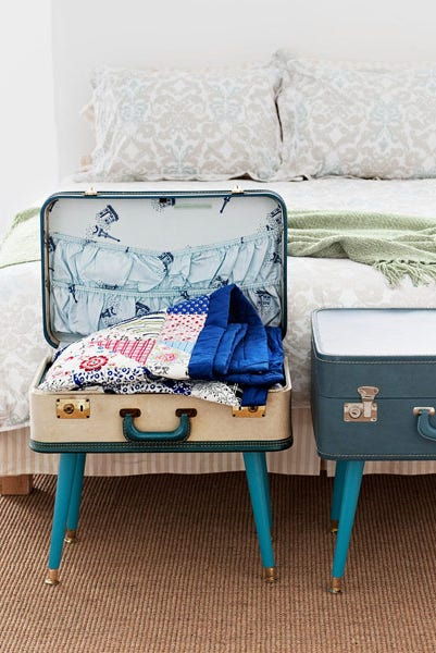 Suitcase Table - DIY Home Decor