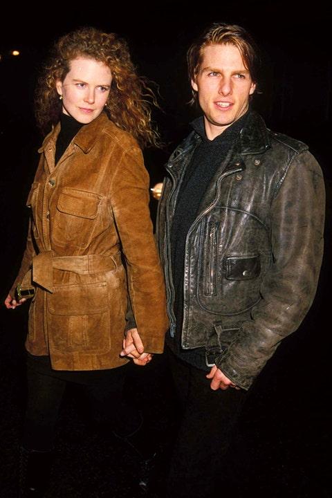 Nicole and Tom Cruise