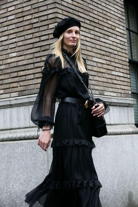Clothing, Street fashion, Fashion, Outerwear, Gothic fashion, Dress, Costume, Victorian fashion, Cosplay, Fashion accessory,