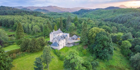 Duchray Castle, Aberfoyle, Scotland